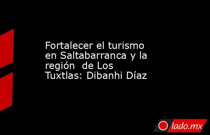 Fortalecer el turismo en Saltabarranca y la región  de Los Tuxtlas: Dibanhi Díaz. Noticias en tiempo real