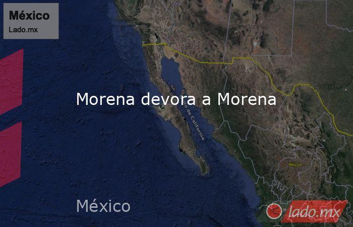 Morena devora a Morena. Noticias en tiempo real