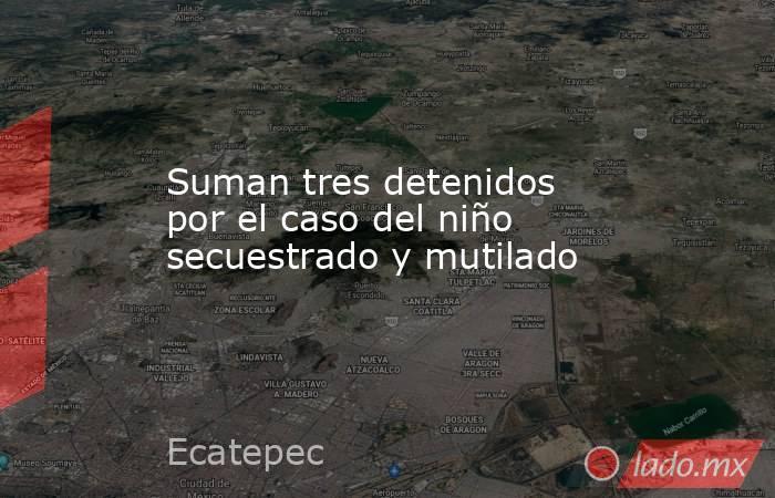 Suman tres detenidos por el caso del niño secuestrado y mutilado. Noticias en tiempo real