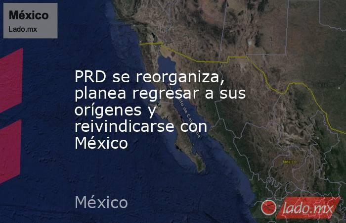PRD se reorganiza, planea regresar a sus orígenes y reivindicarse con México. Noticias en tiempo real