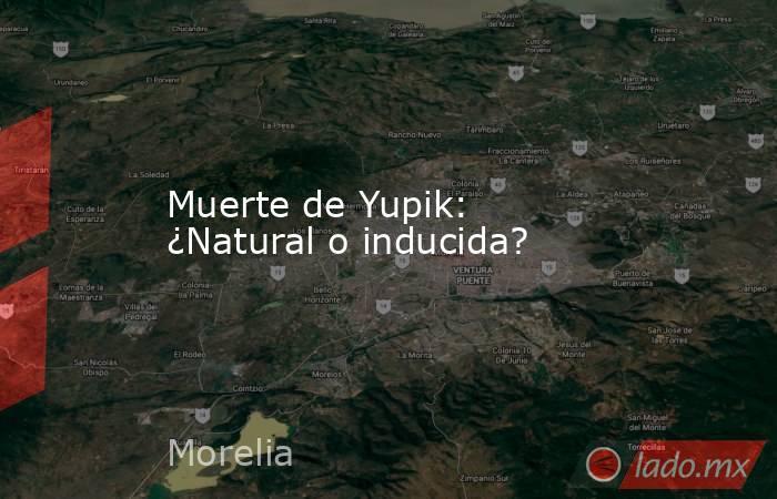Muerte de Yupik: ¿Natural o inducida?. Noticias en tiempo real