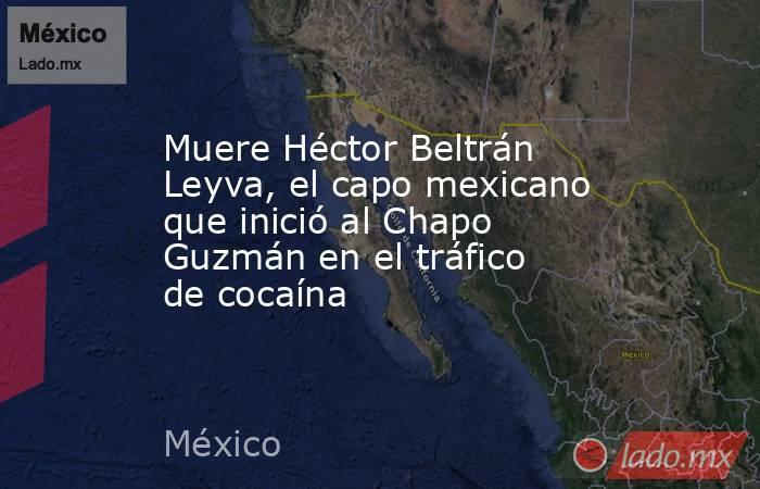 Muere Héctor Beltrán Leyva, el capo mexicano que inició al Chapo Guzmán en el tráfico de cocaína. Noticias en tiempo real