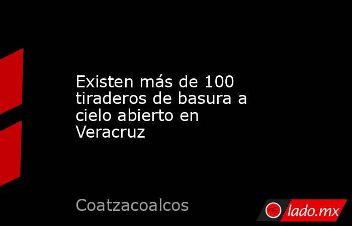Existen más de 100 tiraderos de basura a cielo abierto en Veracruz. Noticias en tiempo real