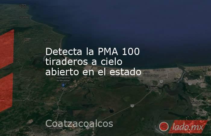 Detecta la PMA 100 tiraderos a cielo abierto en el estado. Noticias en tiempo real