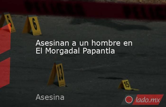 Asesinan a un hombre en El Morgadal Papantla. Noticias en tiempo real
