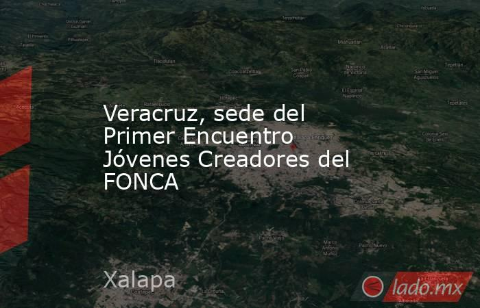 Veracruz, sede del Primer Encuentro Jóvenes Creadores del FONCA. Noticias en tiempo real