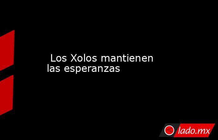 Los Xolos mantienen las esperanzas. Noticias en tiempo real