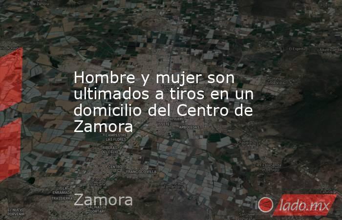 Hombre y mujer son ultimados a tiros en un domicilio del Centro de Zamora. Noticias en tiempo real