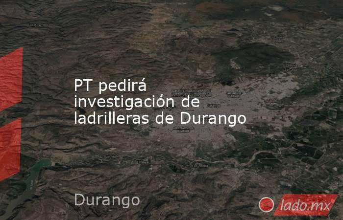 PT pedirá investigación de ladrilleras de Durango . Noticias en tiempo real