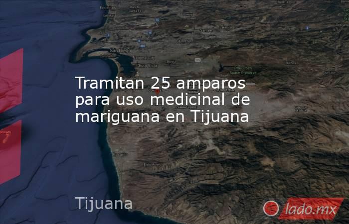 Tramitan 25 amparos para uso medicinal de mariguana en Tijuana. Noticias en tiempo real