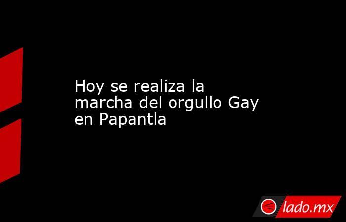 Hoy se realiza la marcha del orgullo Gay en Papantla. Noticias en tiempo real