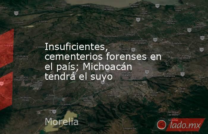 Insuficientes, cementerios forenses en el país; Michoacán tendrá el suyo. Noticias en tiempo real