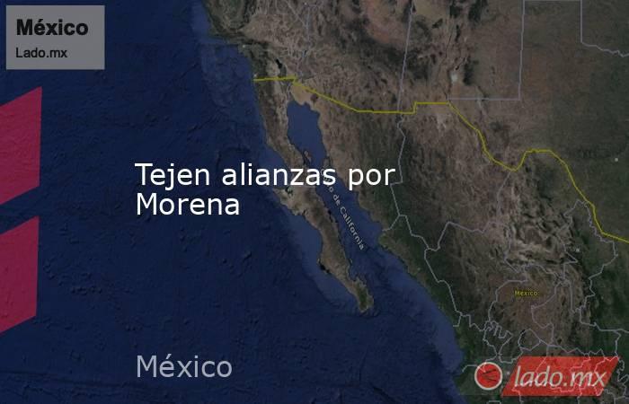 Tejen alianzas por Morena. Noticias en tiempo real