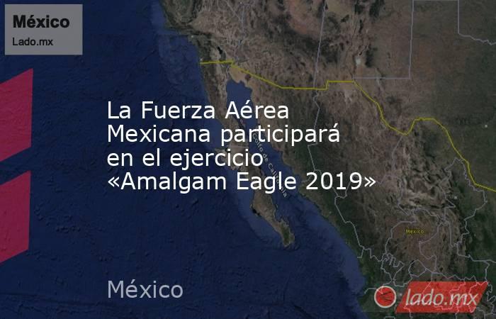 La Fuerza Aérea Mexicana participará en el ejercicio «Amalgam Eagle 2019». Noticias en tiempo real