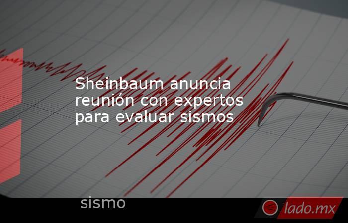 Sheinbaum anuncia reunión con expertos para evaluar sismos. Noticias en tiempo real
