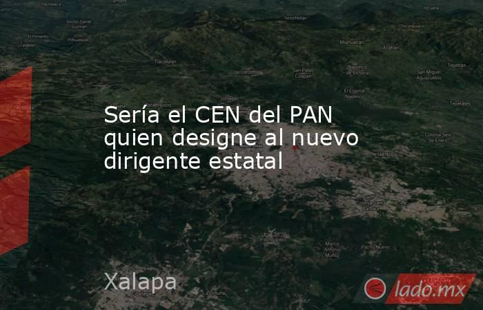 Sería el CEN del PAN quien designe al nuevo dirigente estatal. Noticias en tiempo real