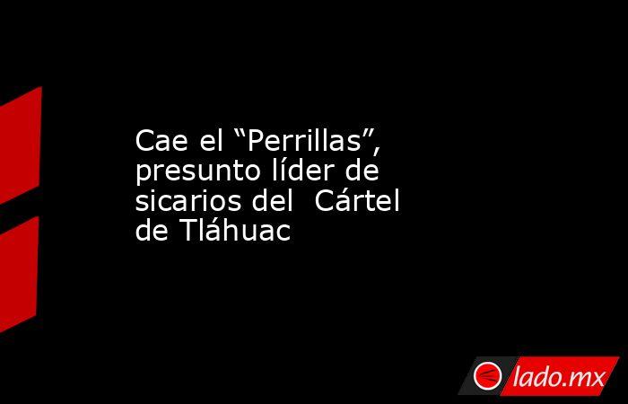 """Cae el """"Perrillas"""", presunto líder de sicarios del  Cártel de Tláhuac. Noticias en tiempo real"""