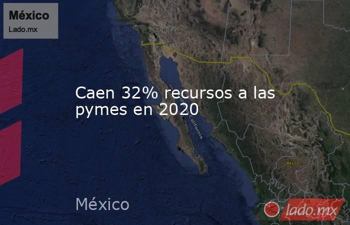 Caen 32% recursos a las pymes en 2020. Noticias en tiempo real