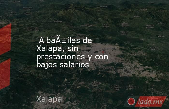 Albañiles de Xalapa, sin prestaciones y con bajos salarios. Noticias en tiempo real