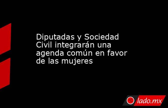 Diputadas y Sociedad Civil integrarán una agenda común en favor de las mujeres. Noticias en tiempo real
