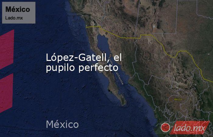 López-Gatell, el pupilo perfecto. Noticias en tiempo real