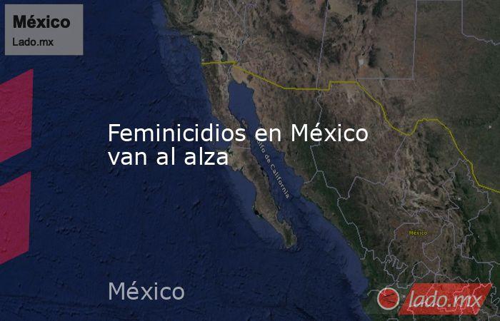 Feminicidios en México van al alza. Noticias en tiempo real