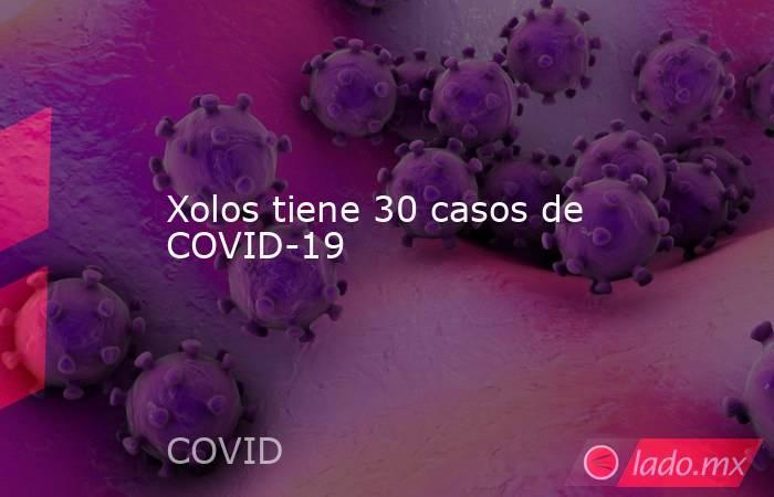Xolos tiene 30 casos de COVID-19. Noticias en tiempo real
