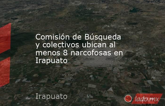 Comisión de Búsqueda y colectivos ubican al menos 8 narcofosas en Irapuato. Noticias en tiempo real
