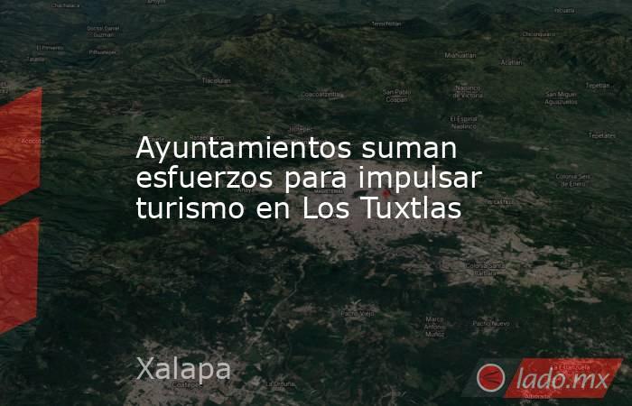 Ayuntamientos suman esfuerzos para impulsar turismo en Los Tuxtlas. Noticias en tiempo real