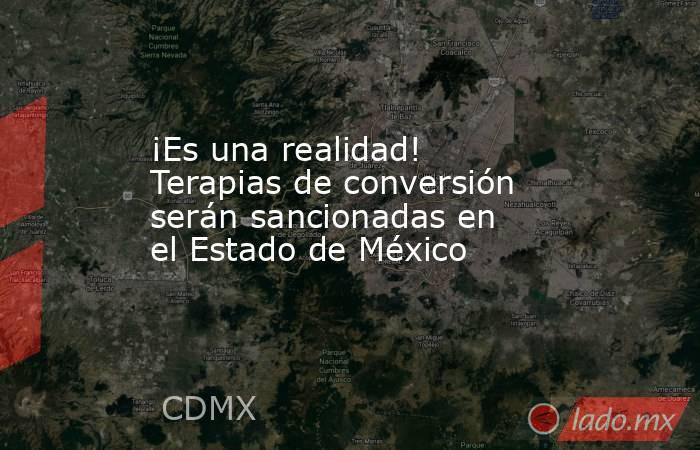 ¡Es una realidad! Terapias de conversión serán sancionadas en el Estado de México. Noticias en tiempo real