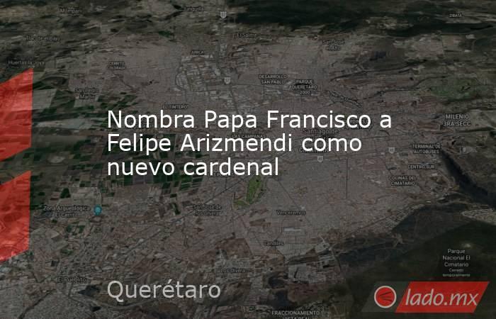 Nombra Papa Francisco a Felipe Arizmendi como nuevo cardenal. Noticias en tiempo real