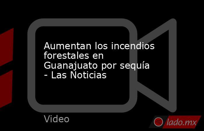 Aumentan los incendios forestales en Guanajuato por sequía - Las Noticias. Noticias en tiempo real