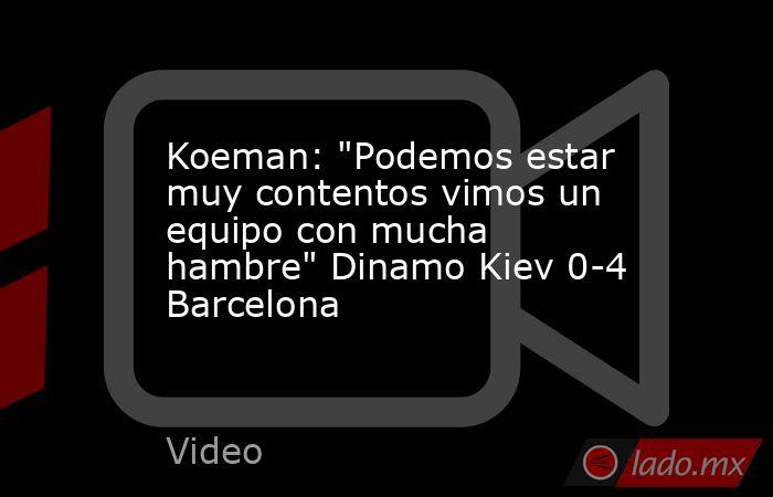 Koeman: