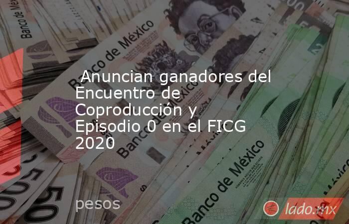 Anuncian ganadores del Encuentro de Coproducción y Episodio 0 en el FICG 2020. Noticias en tiempo real