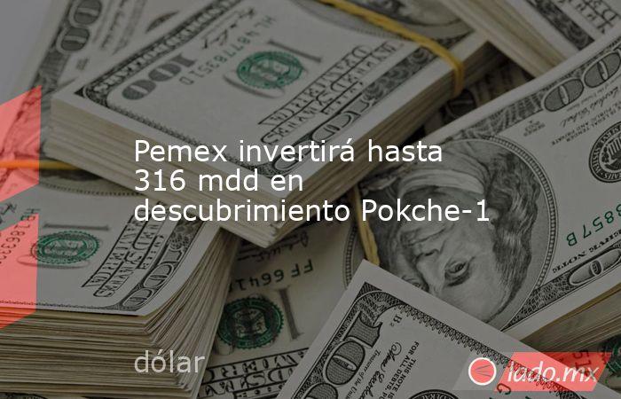Pemex invertirá hasta 316 mdd en descubrimiento Pokche-1. Noticias en tiempo real