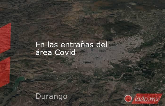 En las entrañas del área Covid. Noticias en tiempo real