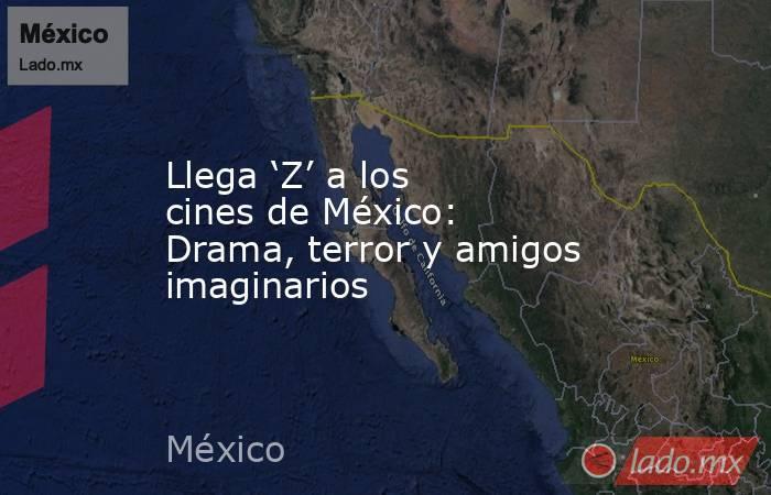 Llega 'Z' a los cines de México: Drama, terror y amigos imaginarios. Noticias en tiempo real