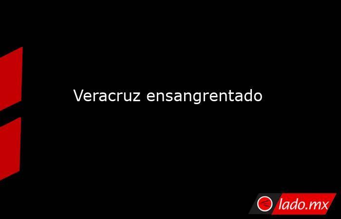 Veracruz ensangrentado. Noticias en tiempo real
