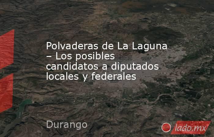 Polvaderas de La Laguna – Los posibles candidatos a diputados locales y federales. Noticias en tiempo real