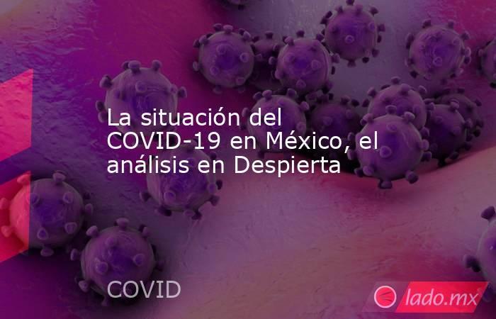 La situación del COVID-19 en México, el análisis en Despierta. Noticias en tiempo real