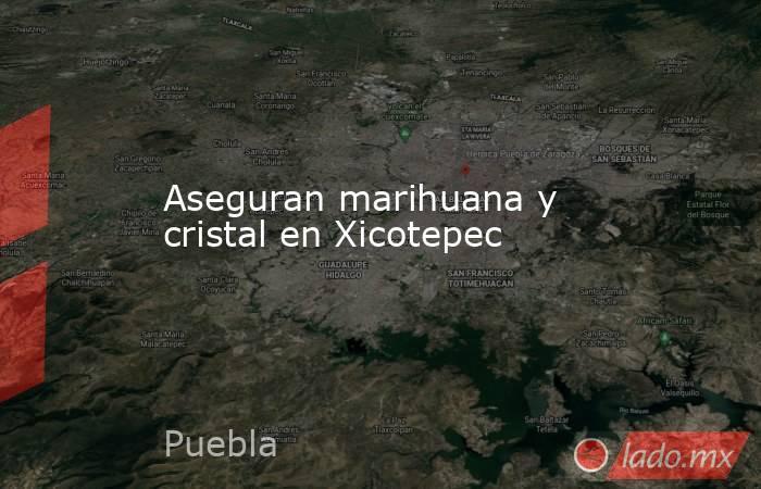 Aseguran marihuana y cristal en Xicotepec. Noticias en tiempo real