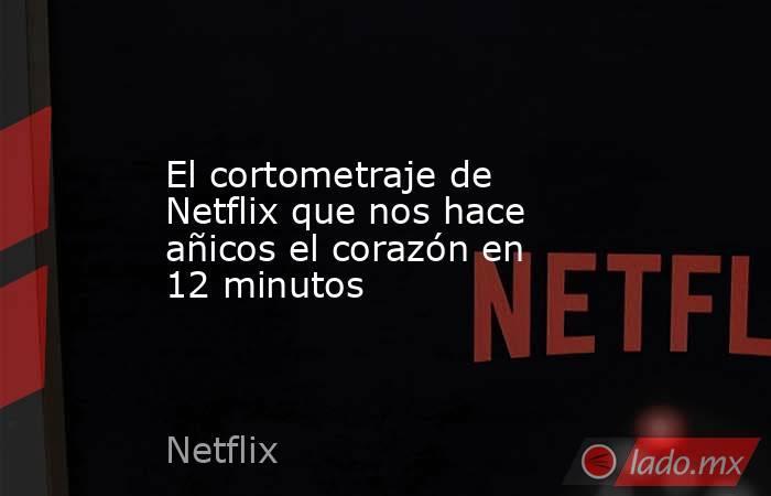El cortometraje de Netflix que nos hace añicos el corazón en 12 minutos. Noticias en tiempo real