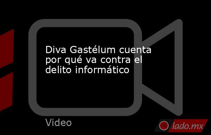 Diva Gastélum cuenta por qué va contra el delito informático. Noticias en tiempo real