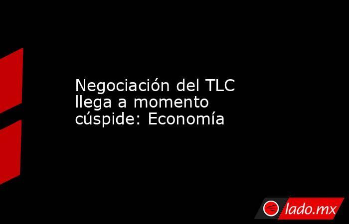 Negociación del TLC llega a momento cúspide: Economía. Noticias en tiempo real